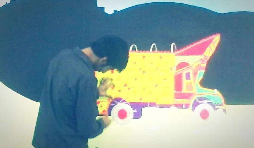 Studio Department Arts Design University Colorful Wall Truck Student Streetart