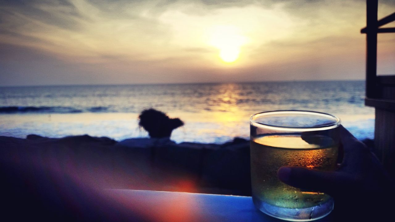 My Favorite Photo It defines my life and my mood at the moment it was taken. I was all on my own with a drink in my hand listening to the sound of waves and enjoying the sunset. Bliss. Showing Imperfection Beach Sunset_collection Sunset Sunsetbythesea🌅 Wine MyTIME Alone Time Picturesque Kerala Beautiful Ocean Peaceful Colorsinthesky