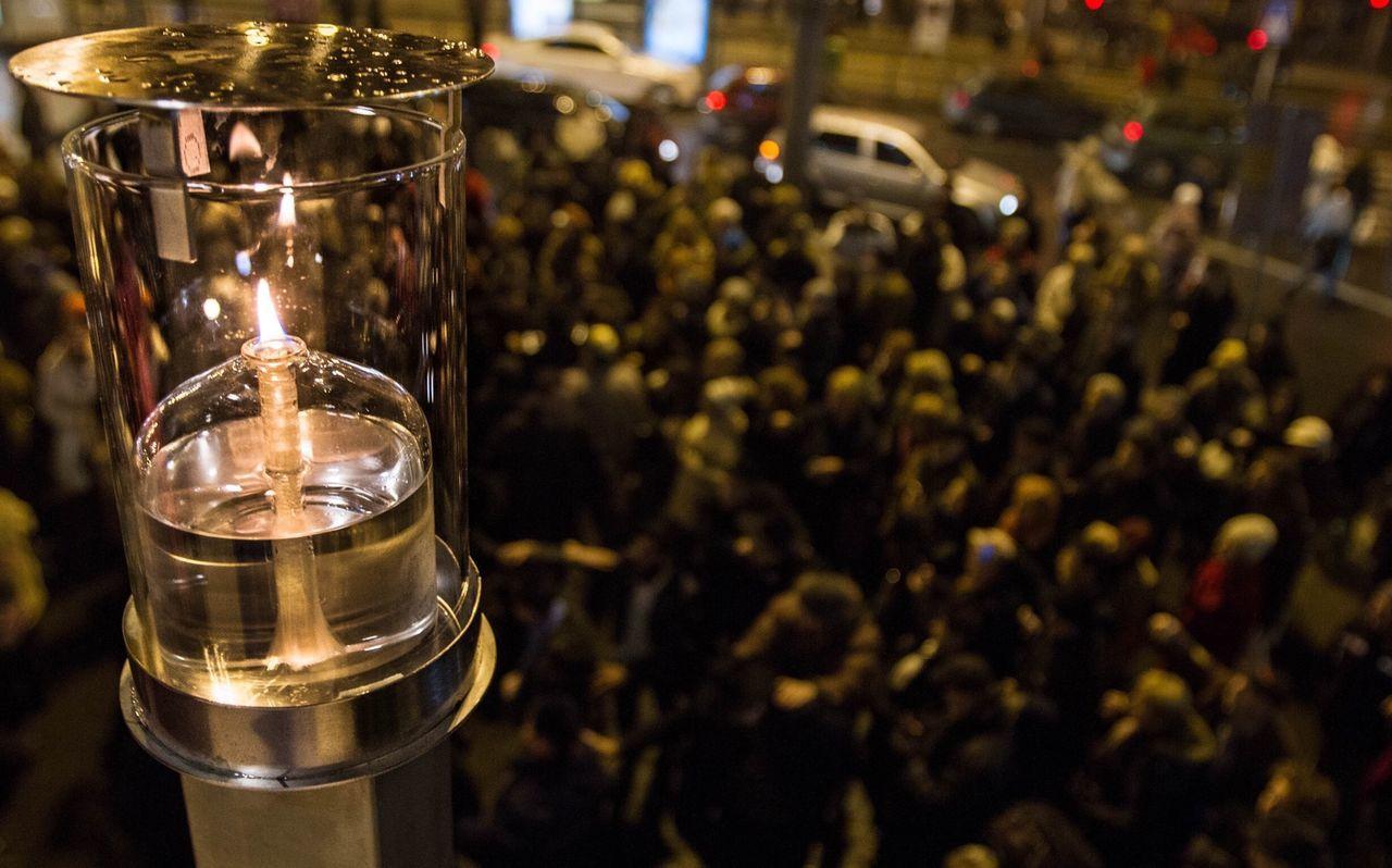 Hanukkah Jewish Menorah Holiday Mass Fire ?