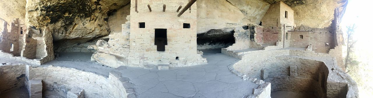 Mesa Verde Balcony House Colorado Indians  Colorado Panoramic Photography Pueblos