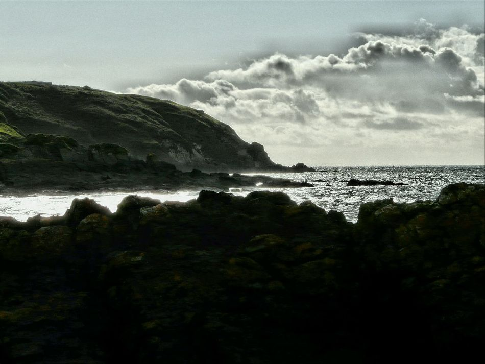Coastal Views Summer Memories 🌄 Check This Out Taking Photos Angle Pembrokeshire Edit Sea Sky Water Rugged Coastline