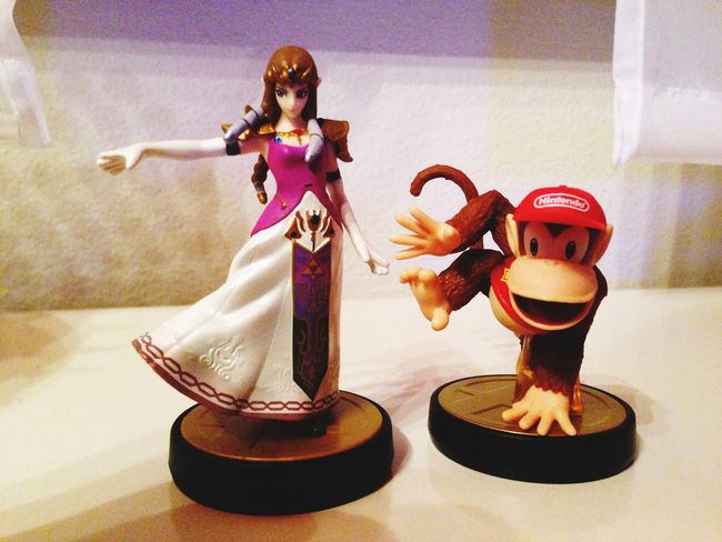 Amiibo Nintendo Zelda DiddyKong Video Games