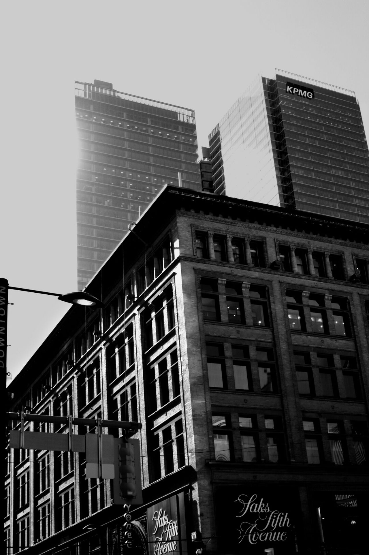 Building Exterior Architecture Built Structure Window City Façade No People City Life Outdoors Sky Clear Sky Skyscraper Apartment Business Finance And Industry Day The Week On Eyem Photooftheday Building Industrial Outdoor Photography Toronto Canada Downtown