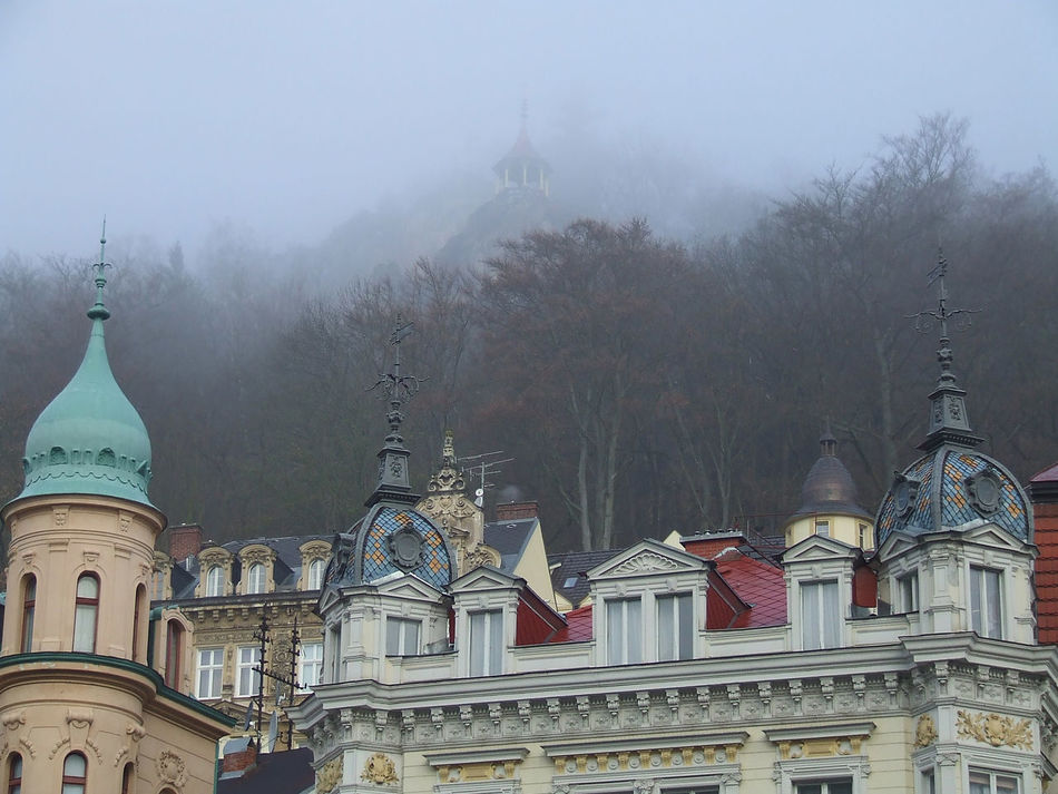 Nebel lichtet sich Architecture Built Structure Church Day Dome Famous Place No People Outdoors Tourism Travel Destinations