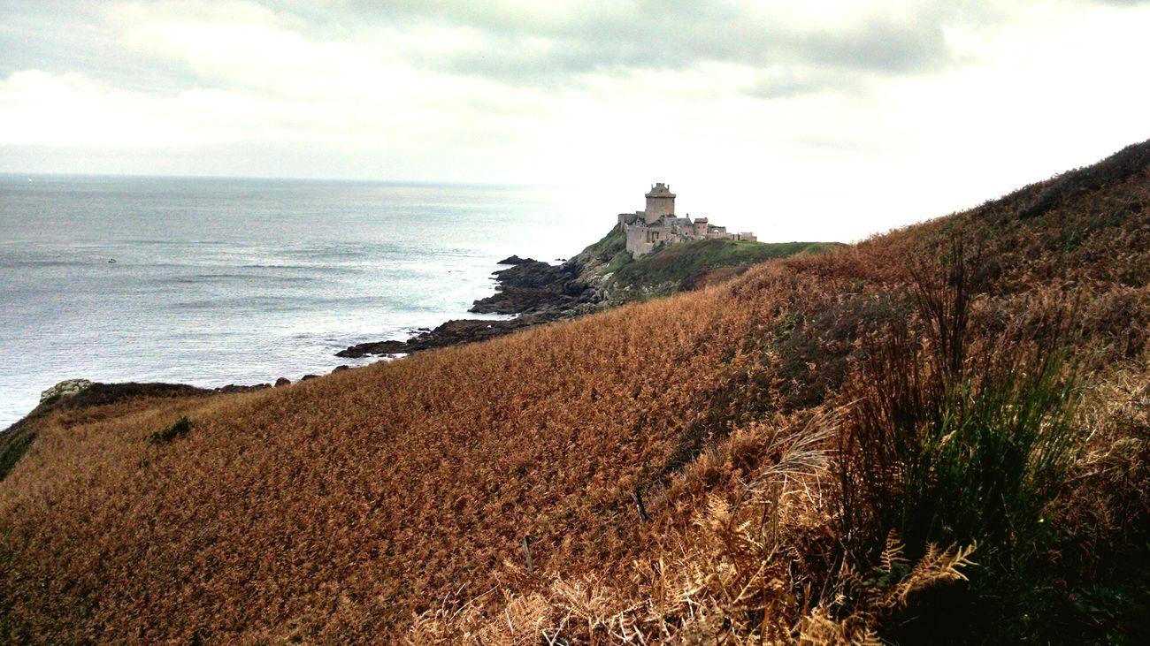 Castle Landscape Bretagnetourisme Bretagne Cap Frehel Sea Seascape