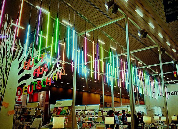Escenario de la fil Illuminated Indoors  Network Server Technology Colors Lihgts Fullcolor Lovephotography  Vibrant Color Random No People Picsart Neon Picsofday