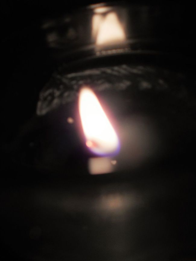 Can Candle Candlelight Lowlight No People One Light Source Open Flame Reflection