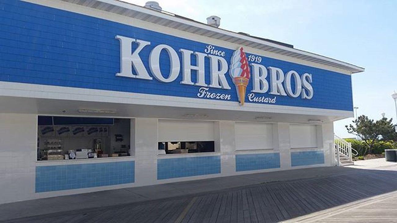 The new Kohr Bros is now open.... Oceancitycool OceanCity Maryland Ocmd Icecream Frozencustard