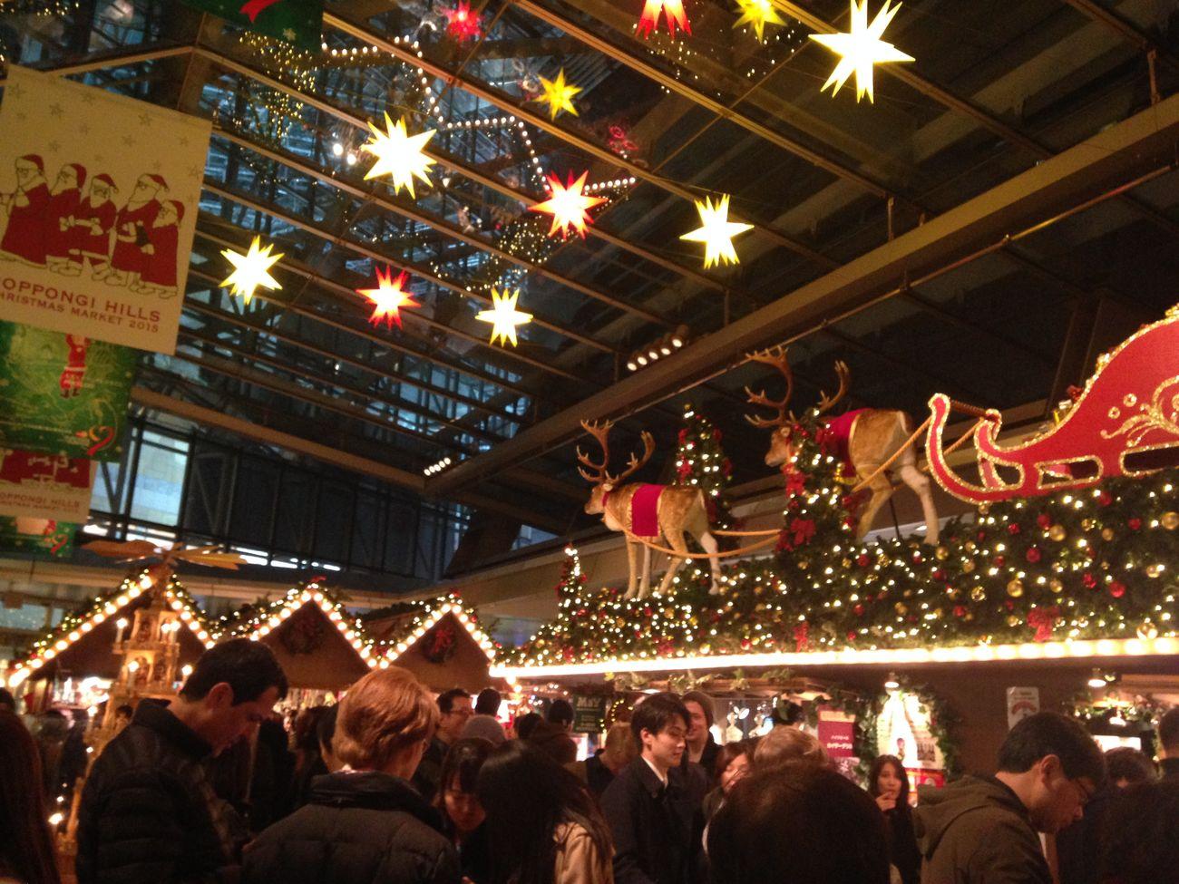 Christmas Christmasmarkets Santaclaus 六本木ヒルズ Roppongihills