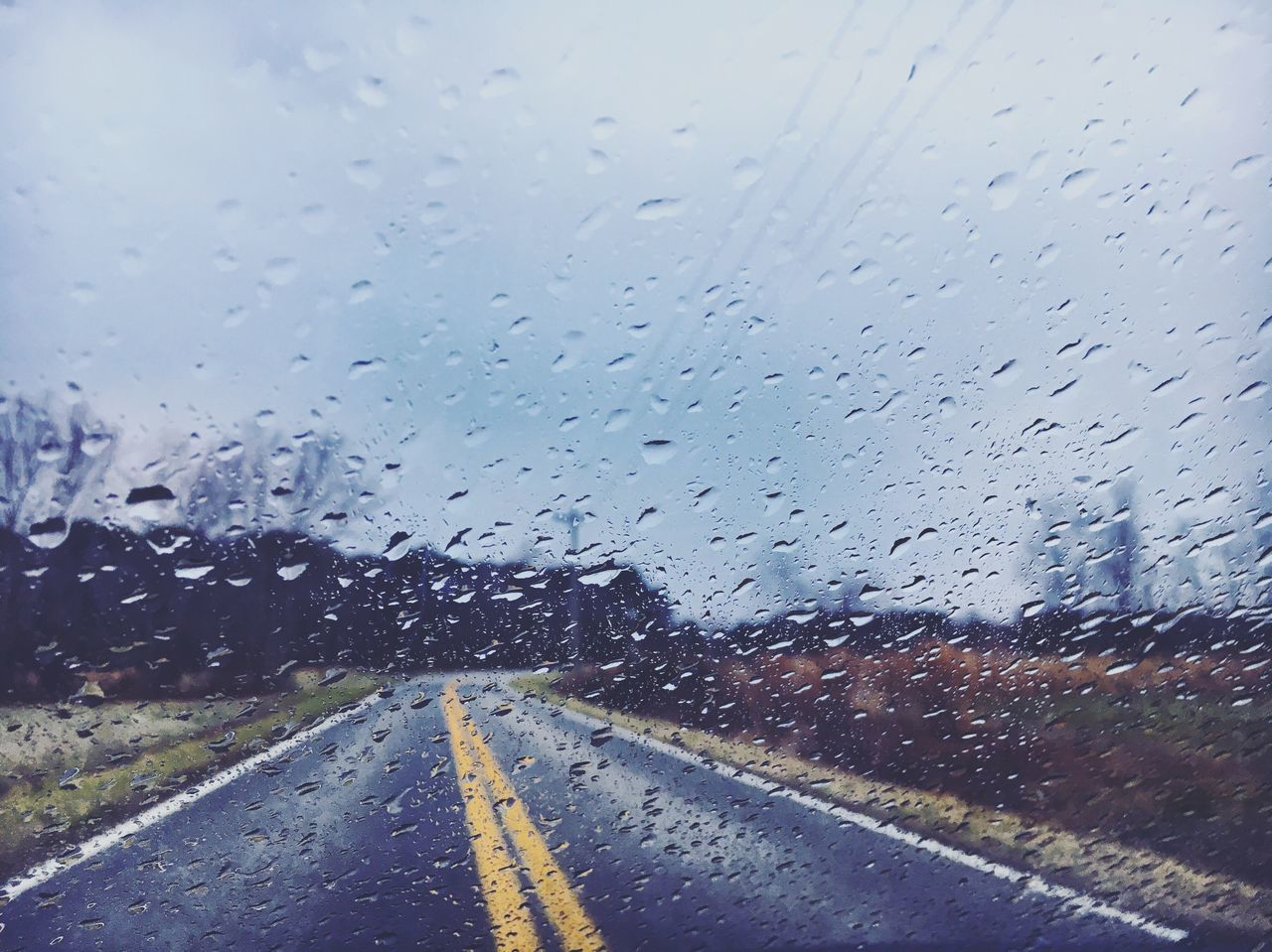 Rainy day Transportation Glass - Material Transparent Road Wet The Way Forward Car Drop Rain Vehicle Interior Window No People Windshield Land Vehicle Sky Car Interior Nature Day Mode Of Transport RainDrop Rain Drops Rainy Days Rainy Day Rainy Rainy Season