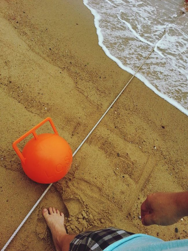 Buoy Beach Taking Photos Relaxing