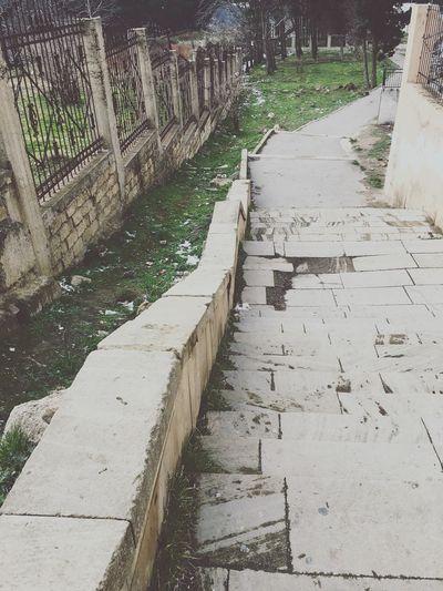 Stairways Fence Way To Nowhere Picoftheday