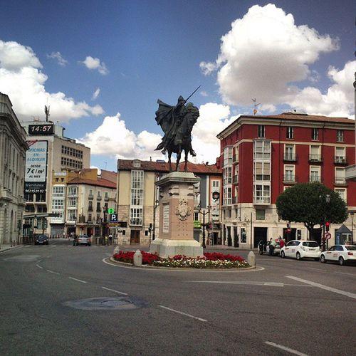 Plaza del Cid Burgos España SPAIN