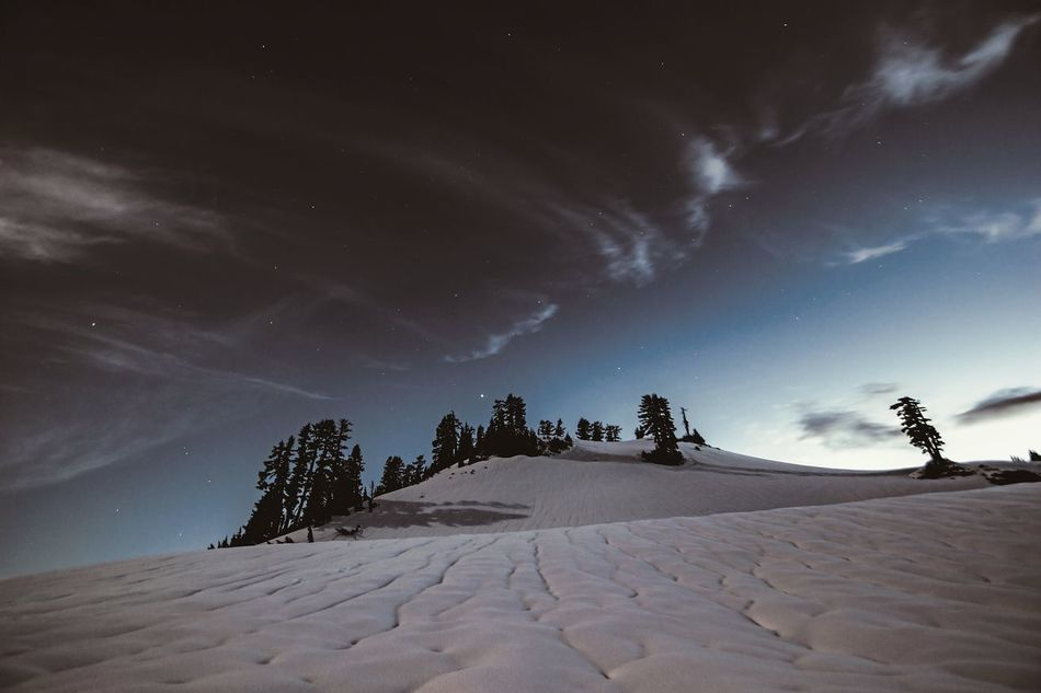 Night Landscape Snow Outdoors Beauty In Nature Mountain Nature Scenics Adventure EyeEmBestPics Mountain Landscape Landscape_Collection EyeEm Gallery EyeEm Best Shots - Landscape Snowcapped Mountain Tranquility Astronomy Star - Space Nightphotography Night Photography Nightshot Astrophotography