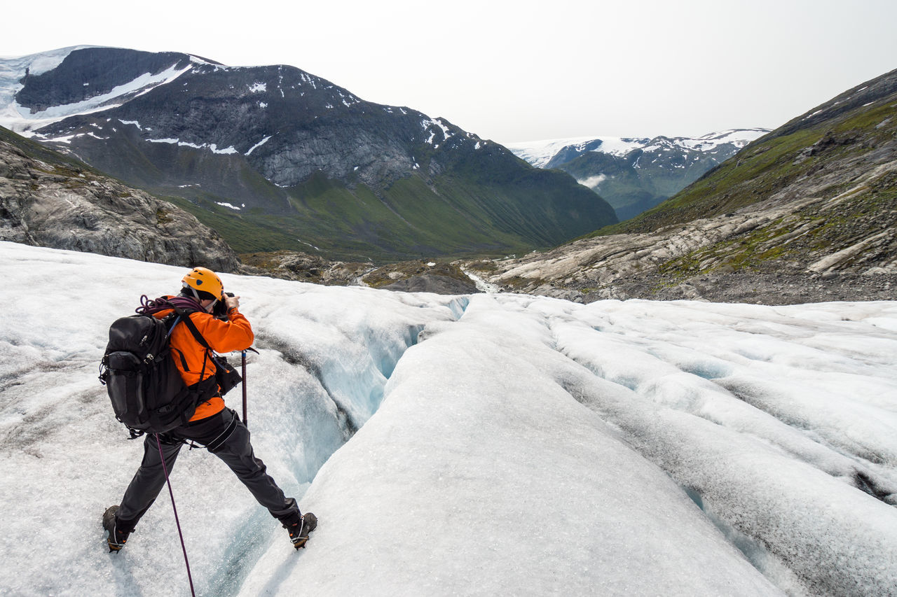 Beautiful stock photos of norway, 40-44 Years, Adventure, Backpack, Beauty In Nature