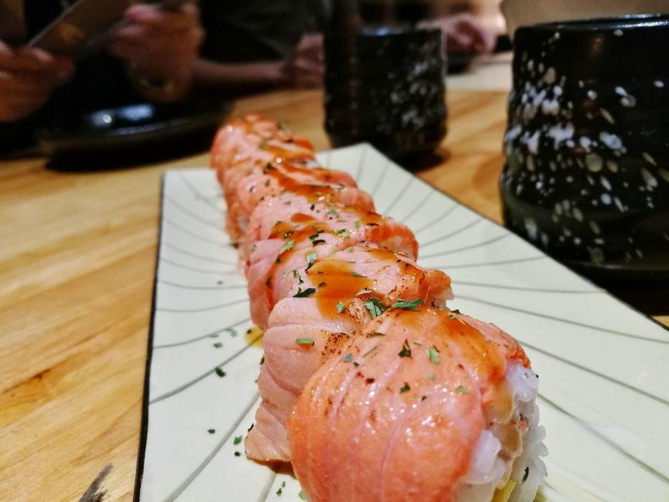 Sushizento Zento Ipohfood Food Enjoying Life First Eyeem Photo Life Salmon Sushi Sushilover HuaweiP9