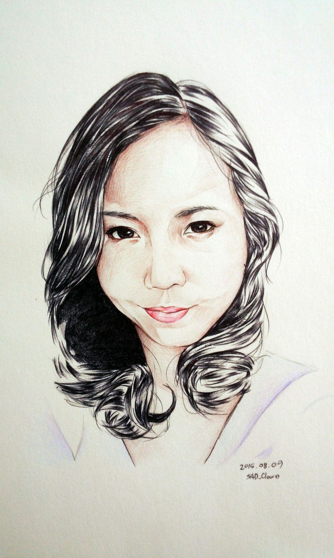 天野小雪 Ballpoint Draw Drawing Paint Painting Esedy