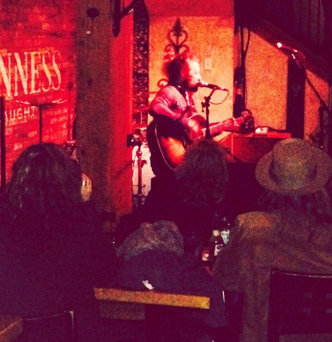 Jesse Roper rocking Doc's bar. Redbird