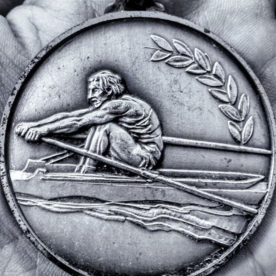 While in Spain, I found this awesome medal at a flea market. I thought about how lucky I was to be in that seat out on the water. Rowing Medal Paddling Canoeing Outrigger Paddle Wave Flatwater Teamsports Determination Reach Plant Pull TeamIFIT