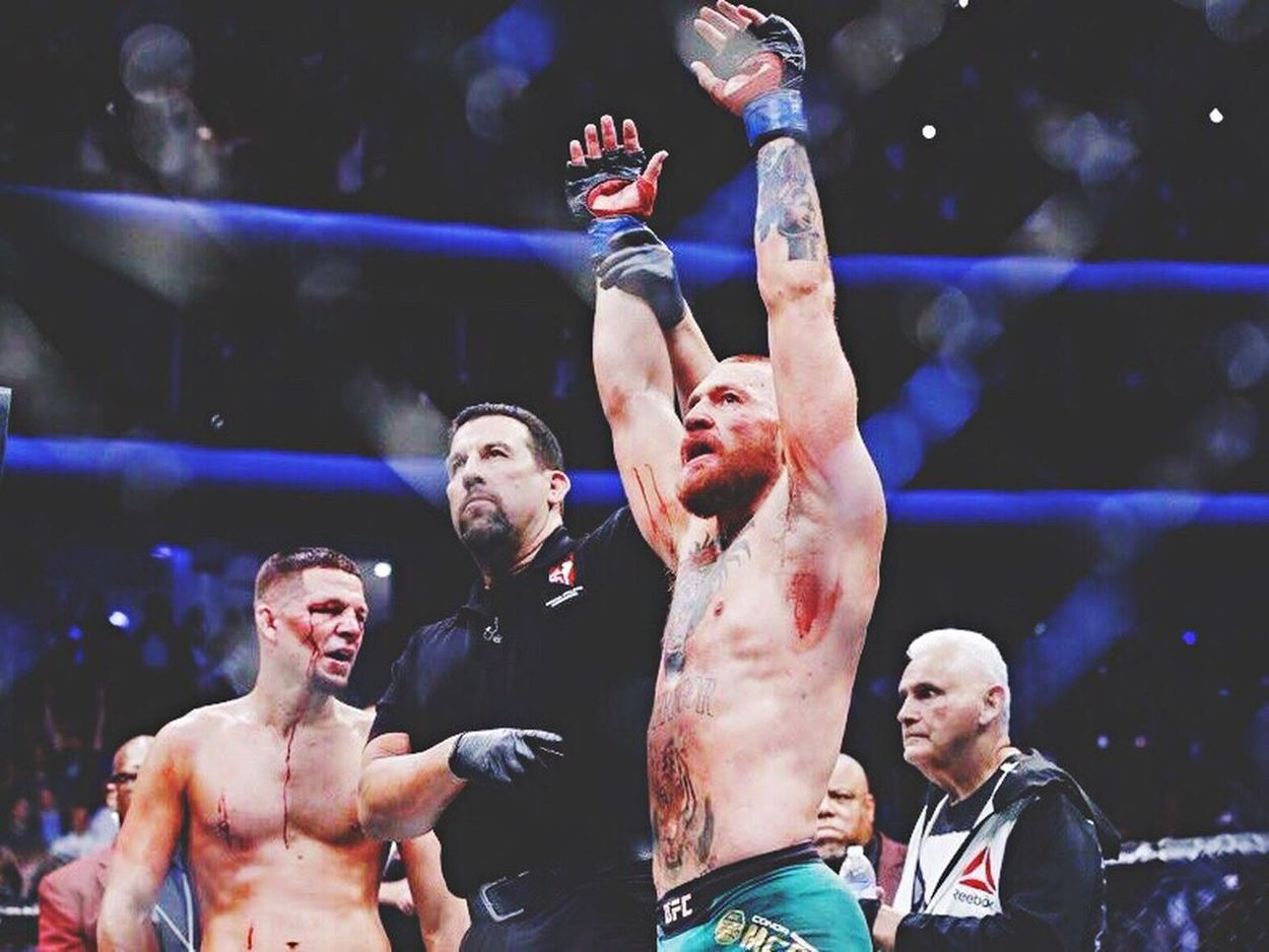 Victorious Notorious. UFC202