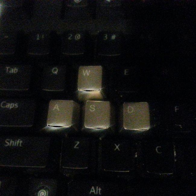 No more fading keys for me :) Wasd Cherrymx MAXKEYBOARD Gaming Gamer