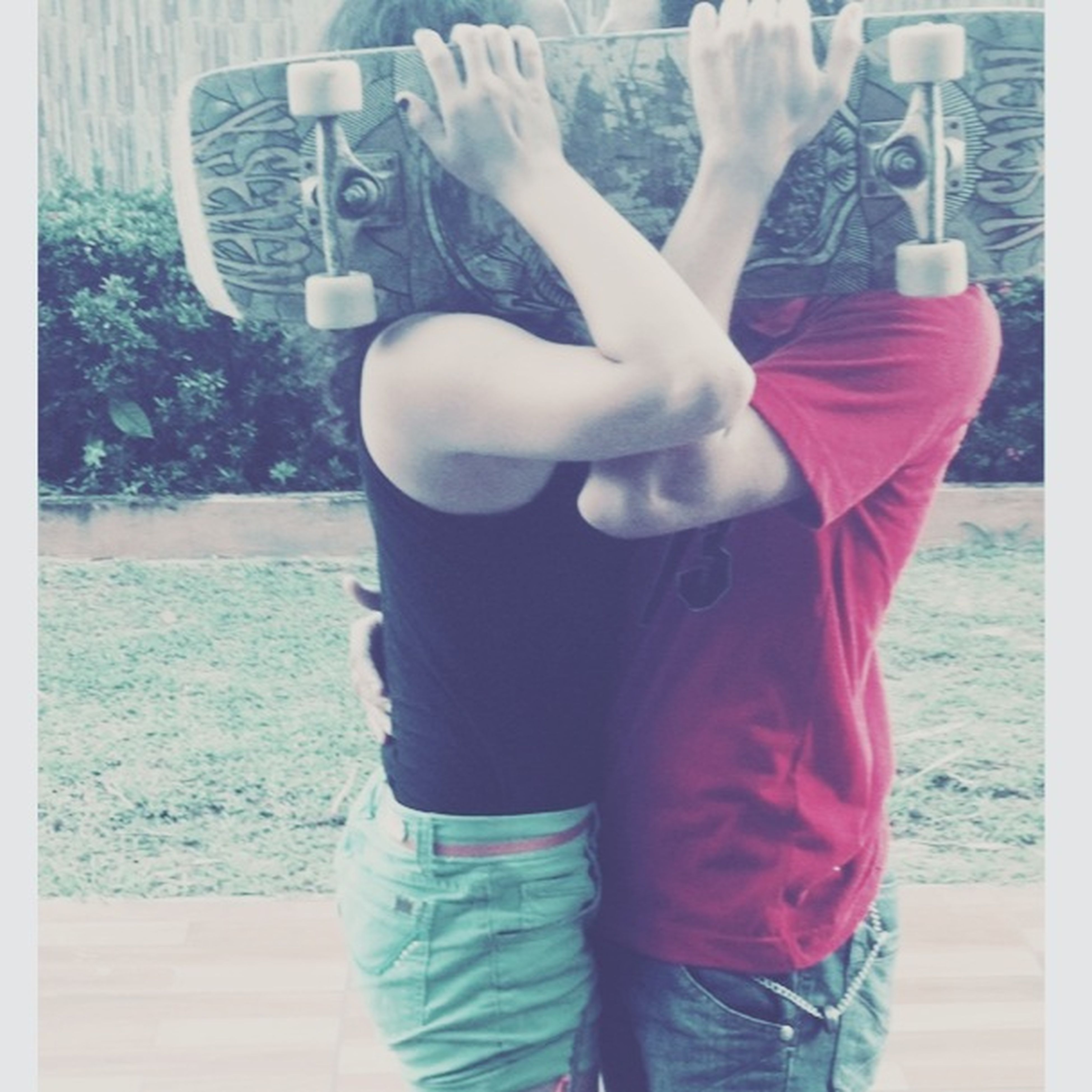 lifestyles, leisure activity, rear view, standing, water, transfer print, childhood, casual clothing, waist up, auto post production filter, day, three quarter length, person, men, indoors, boys, holding
