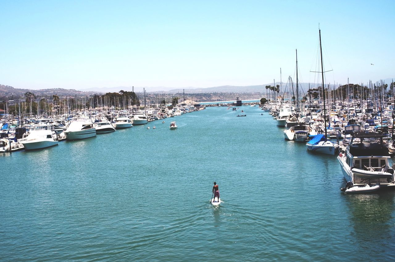 Beautiful stock photos of fitness, Adventure, City Life, Clear Sky, Commercial Dock