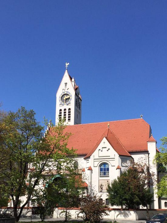 Urban Geometry Architecture Church Erlöserkirche