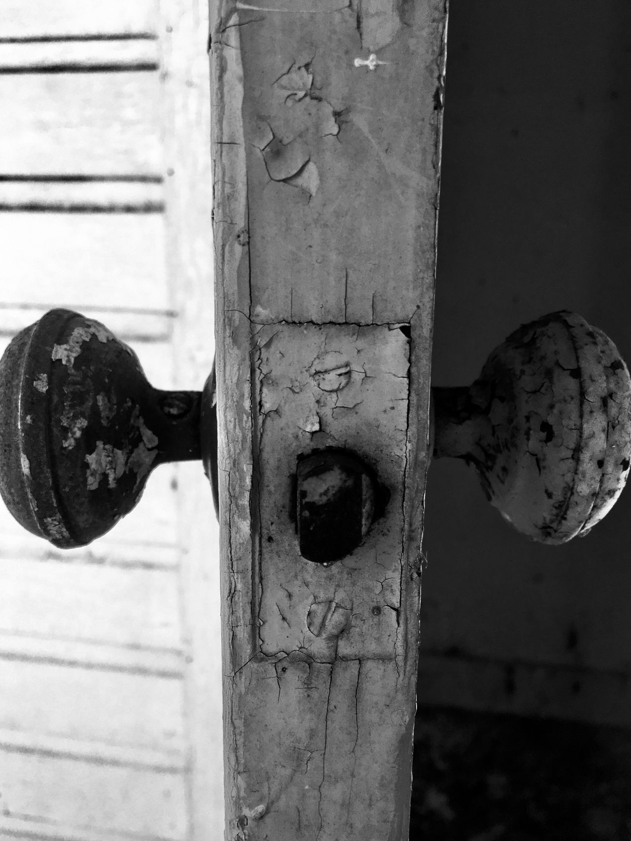 Close-up Door Metal Rusty No People Abandoned Day Outdoors Latch Blackandwhite Abandoned Places abandoned Abandoned Buildings yYingyang