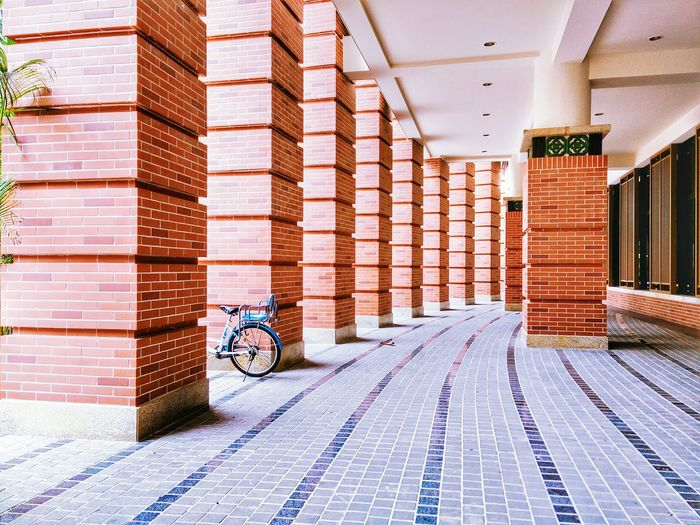 At University Bicycle Architecture Pattern, Texture, Shape And Form On Campus Campus Life University