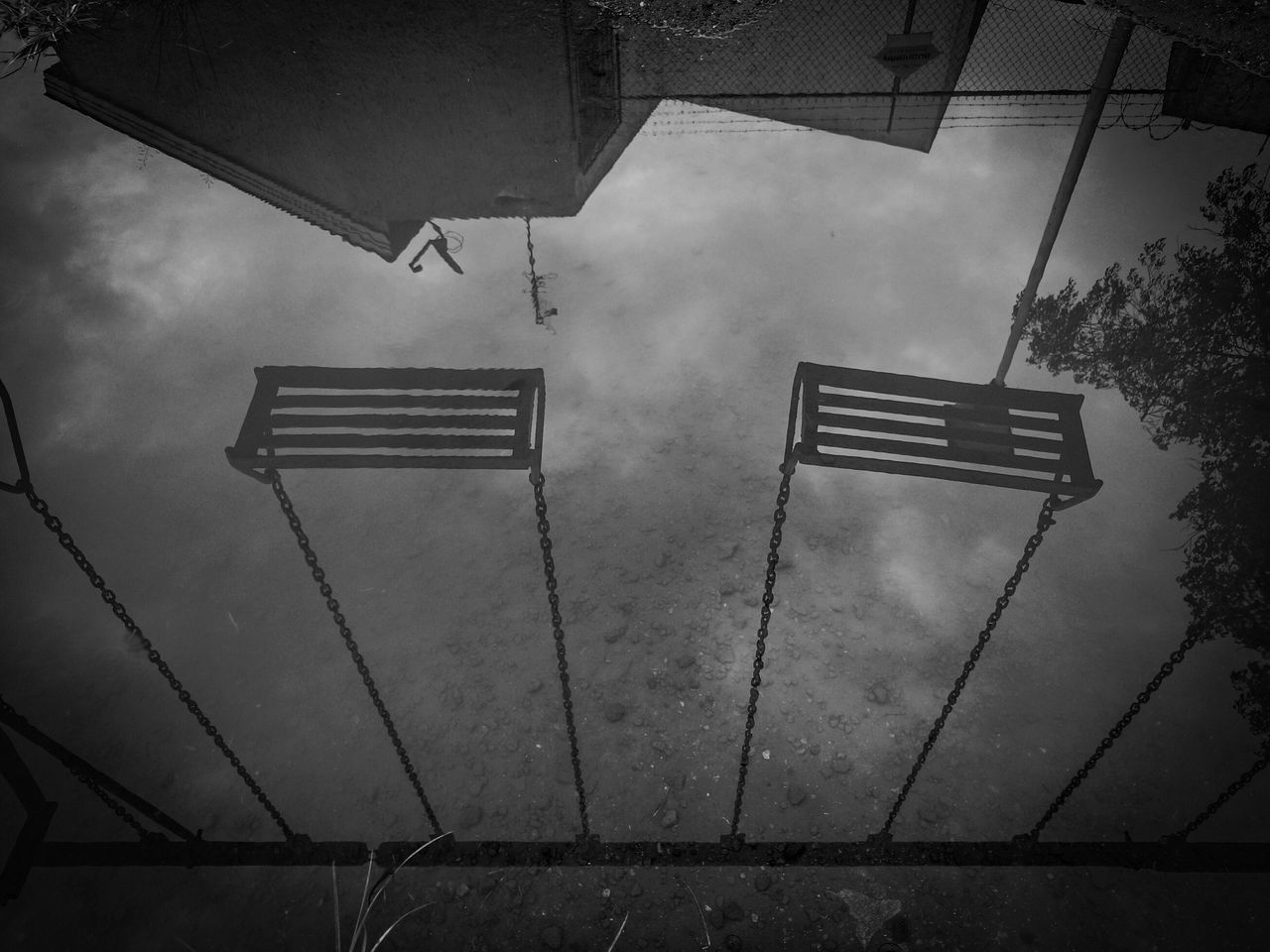 No People Low Angle View Outdoors Cloud - Sky Day Sky Vertical Jalisco, México Simple Photography Monochrome Photography Lonliness Lonliest Place Awake Reflection
