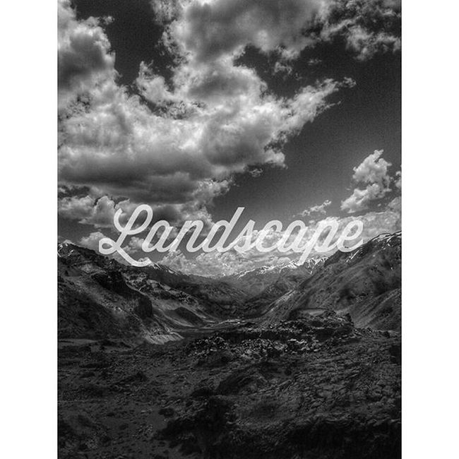 Love visit landscapes..!! Argentina -chile Landscape Calligraphy Tipography Goodcreation Mountainsandsky Blackandwhite Relaxtime Instamoment