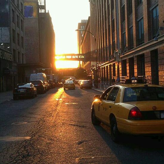New York best sunset in morning.follow me. Photoshots