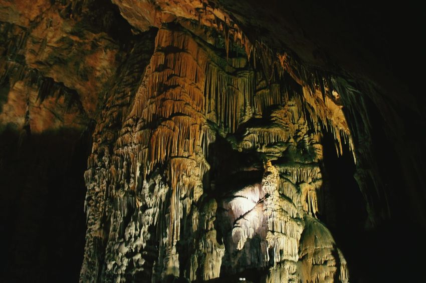 Geology Rock - Object Cave No People Stalactite  Stalagmite Darkness