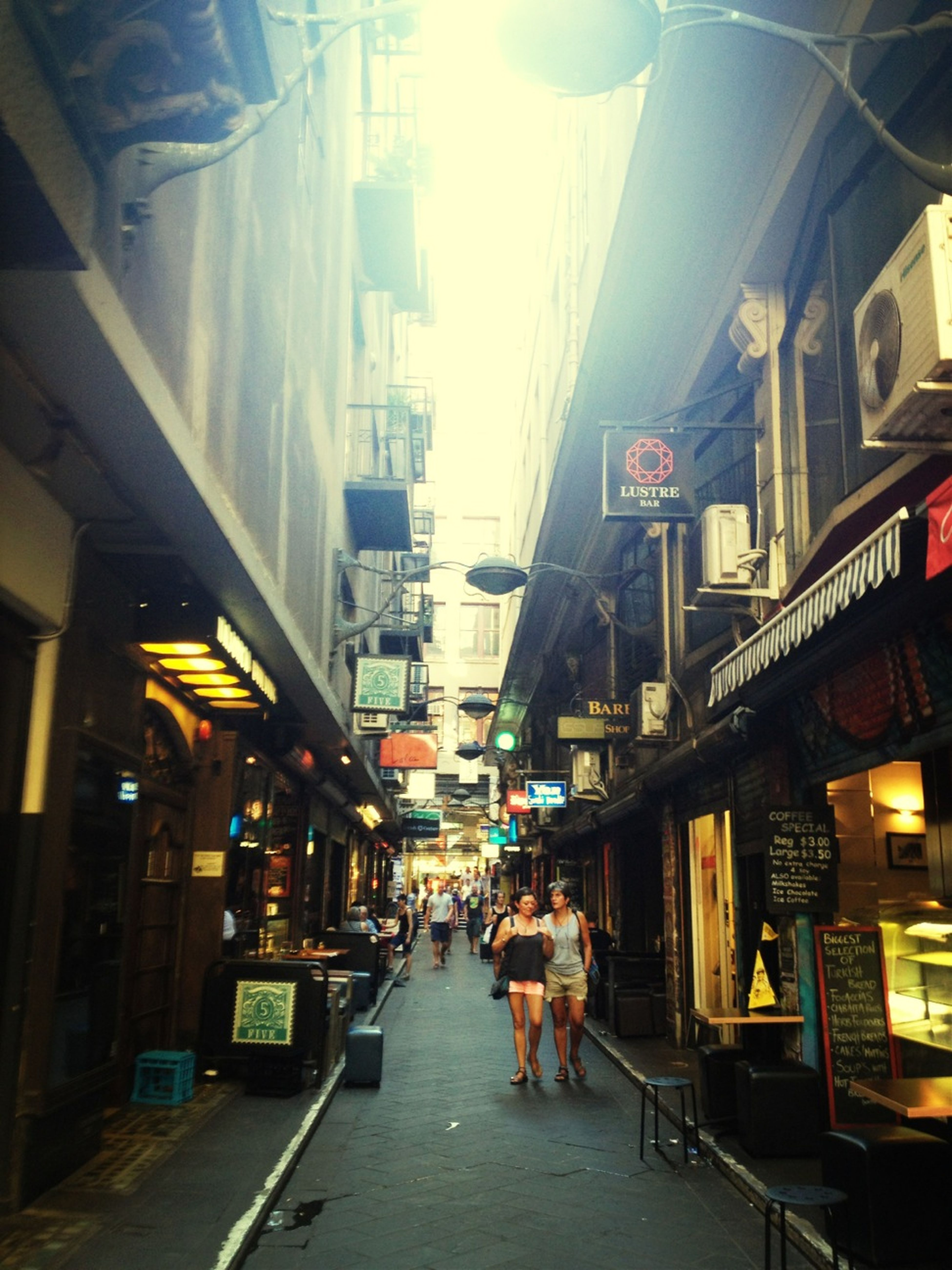 Laneway, Where I Was Waiting For You.