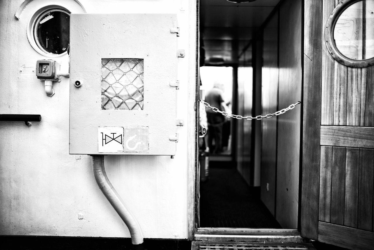 Electric Meter Box By Open Door