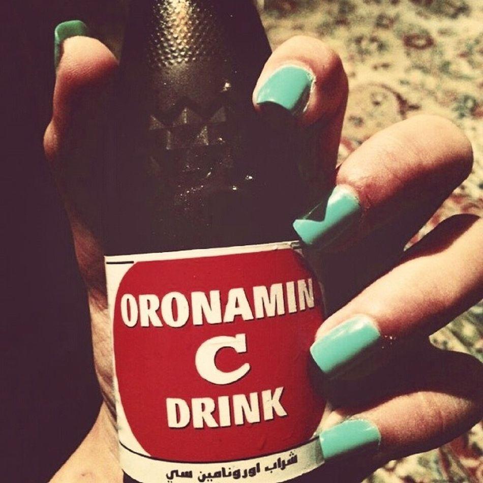 Vitamin_c Yummy Manicure Blue thirsty lunch abudhabi uae