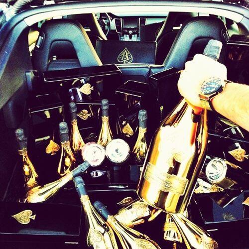 Drunk Drink Shopping Champagne Pain Porsche Panamera Party
