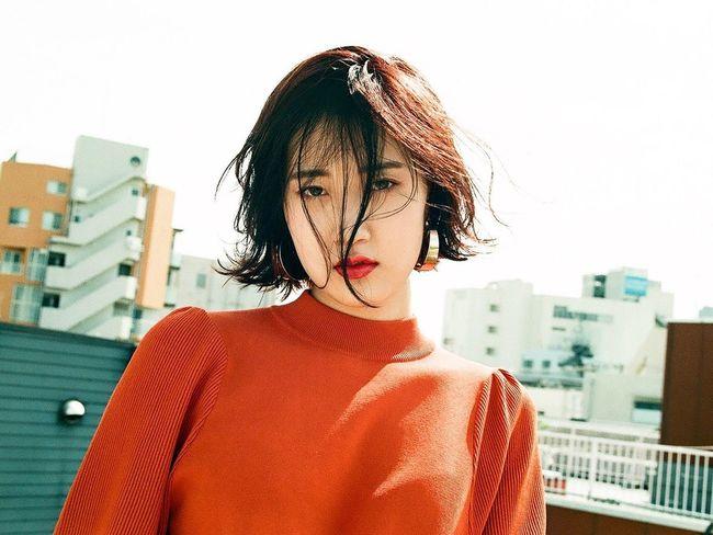 3ce Portrait Beauty Makeup Fashion Film Photography 下北沢 Hairmake Filmcamera