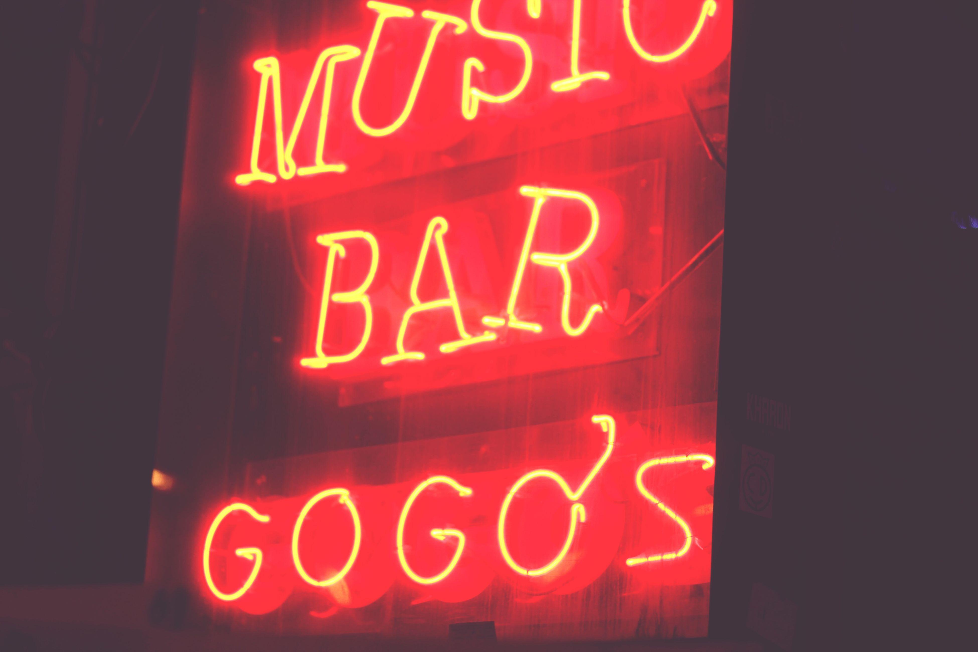Hongdae Gogos Bar First Eyeem Photo