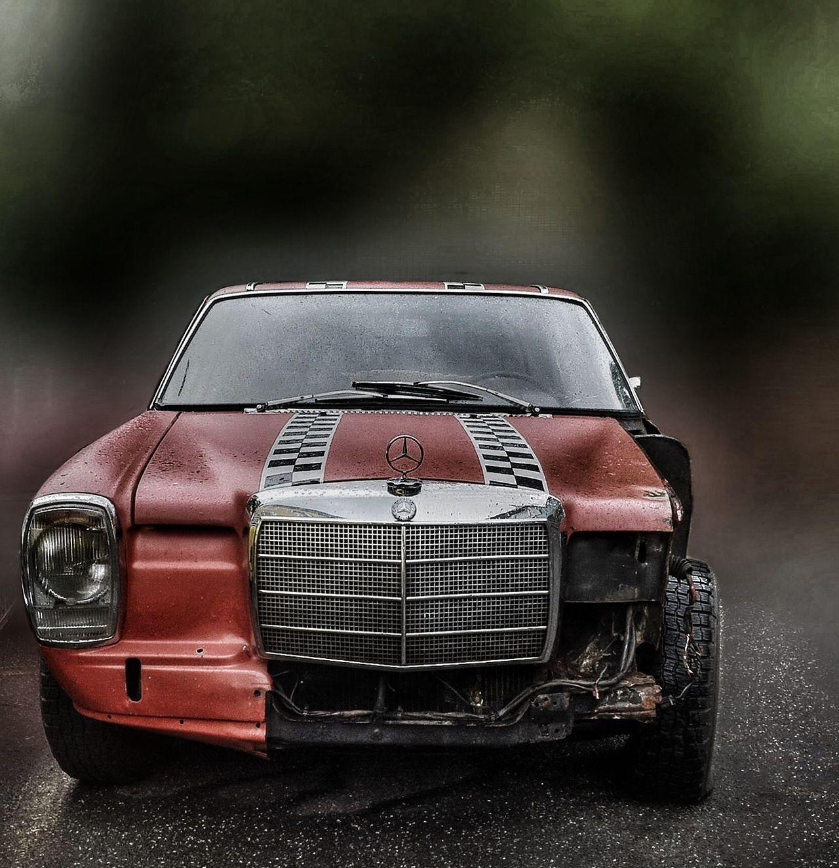 Damaged Benz Karre Soloparking Mercedes Benz Car Collection