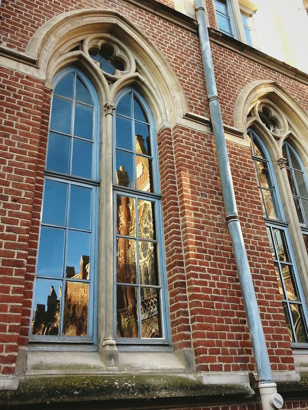 Lille Redbricks Church Reflection_collection Oldschool Oldtown University