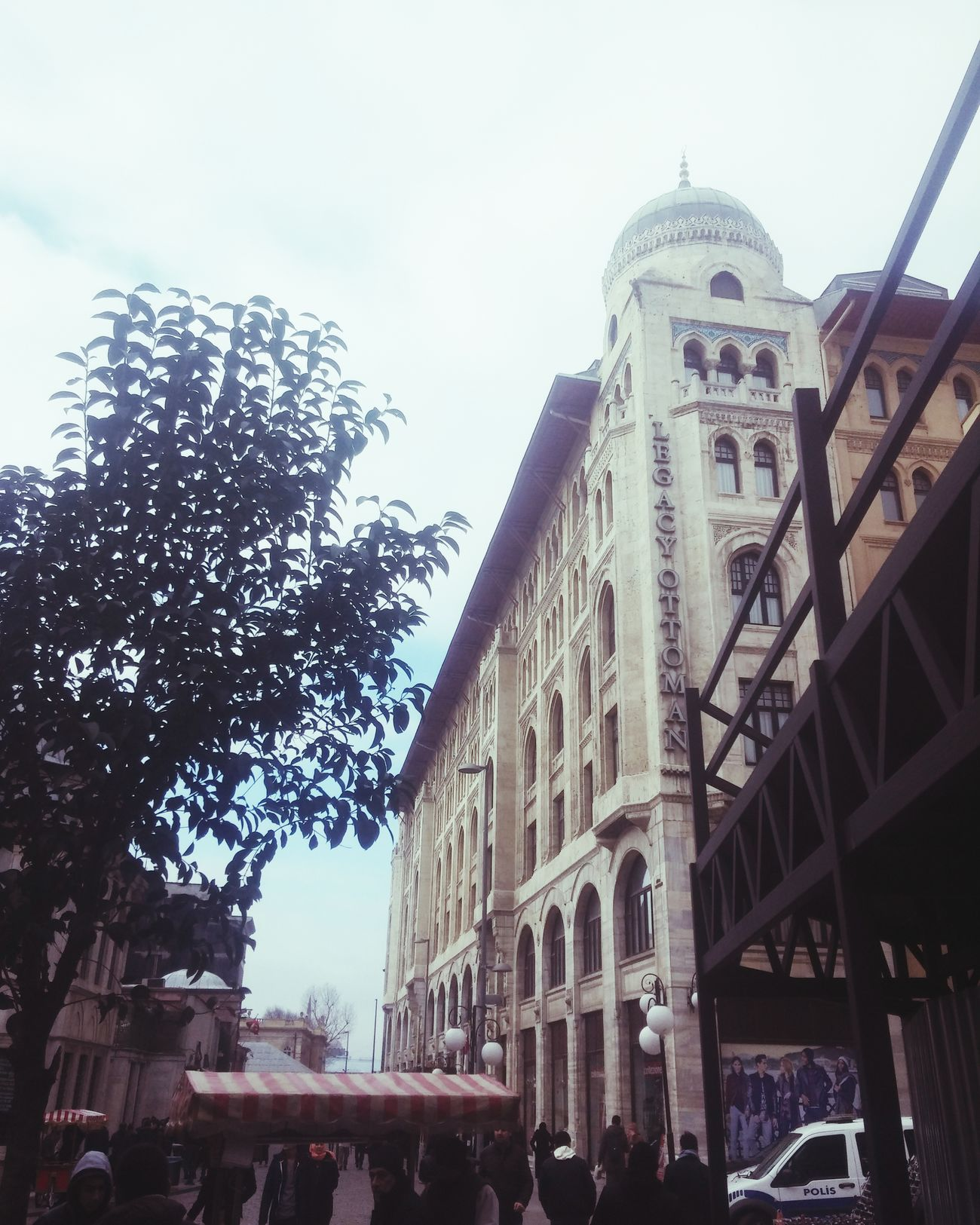 Legacyottomanhotel Sirkeci Historical Building Vscoistanbul VSCO Vscocam Today Tree People