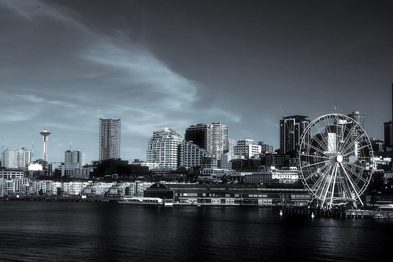 Cityscape Seattle Canon5Dmk3 Pse13 Tonalitypro Architecture Waterscape Outdoors Check This Out OpenEdit