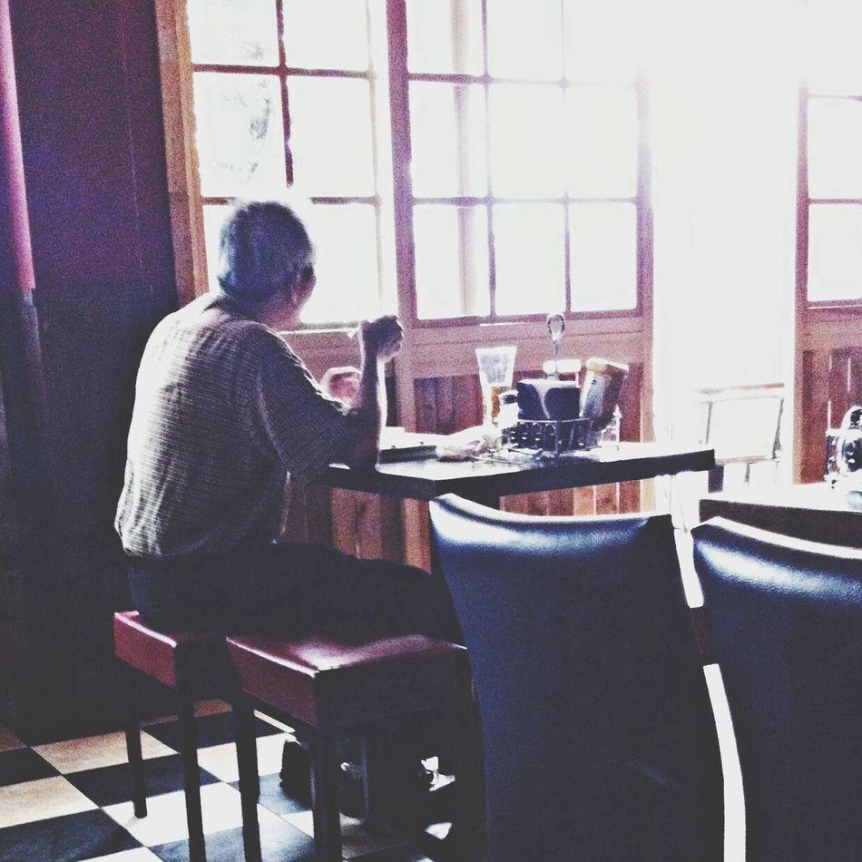 Waiting Restaurant Alone