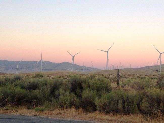 Alternative Energy Beauty In Nature Day Environmental Conservation Field Fuel And Power Generation Grass Industrial Windmill Landscape Nature No People Outdoors Scenics Sky Sunset TehachapiCalifornia Tranquil Scene Tranquility Wind Power Wind Turbine Windmill