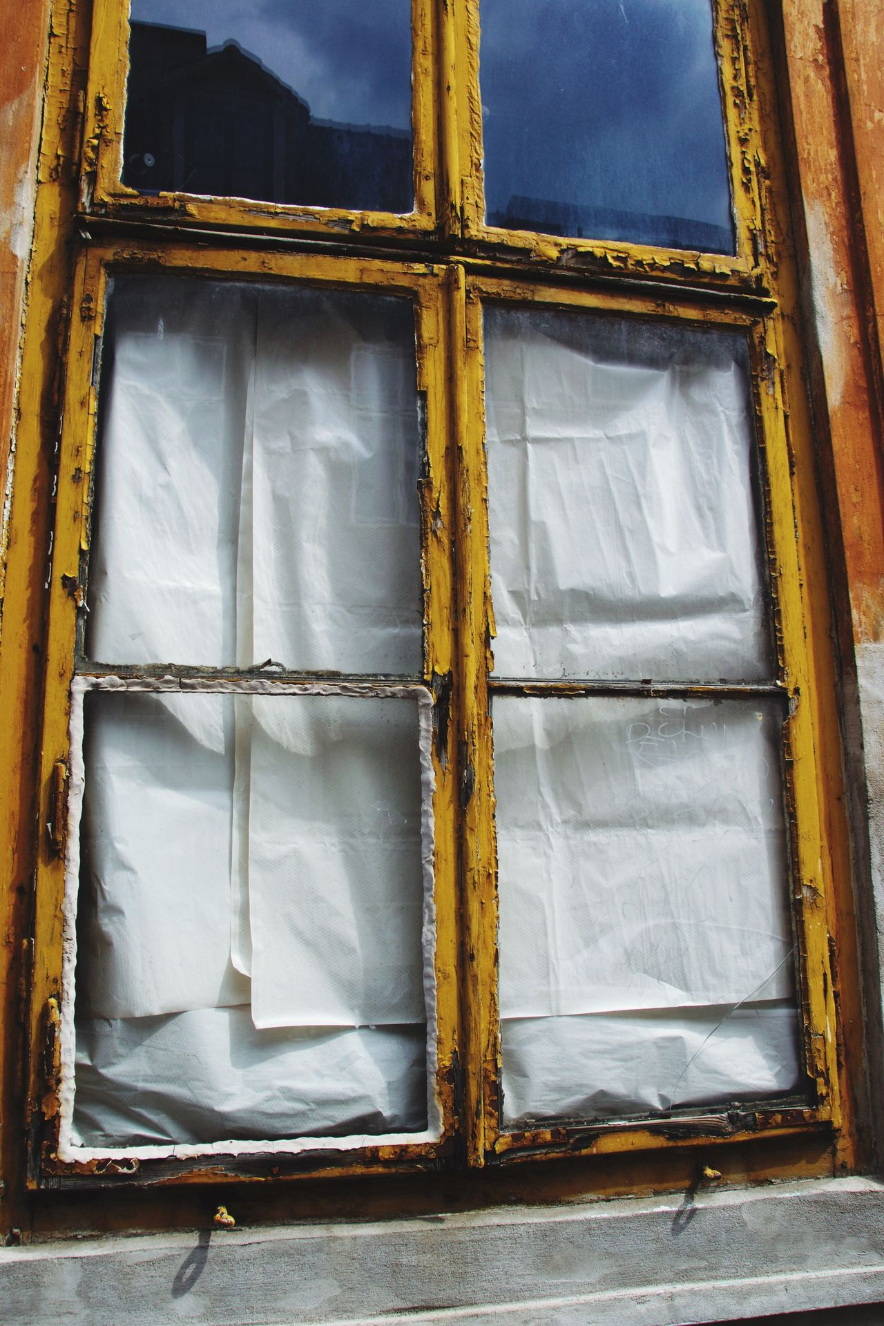 Window Architecture Rectangle Bad Condition Built Structure No People Close-up Building Exterior Day Outdoors Reflection Reflections Blind Windows Urban Exploration Urbanphotography