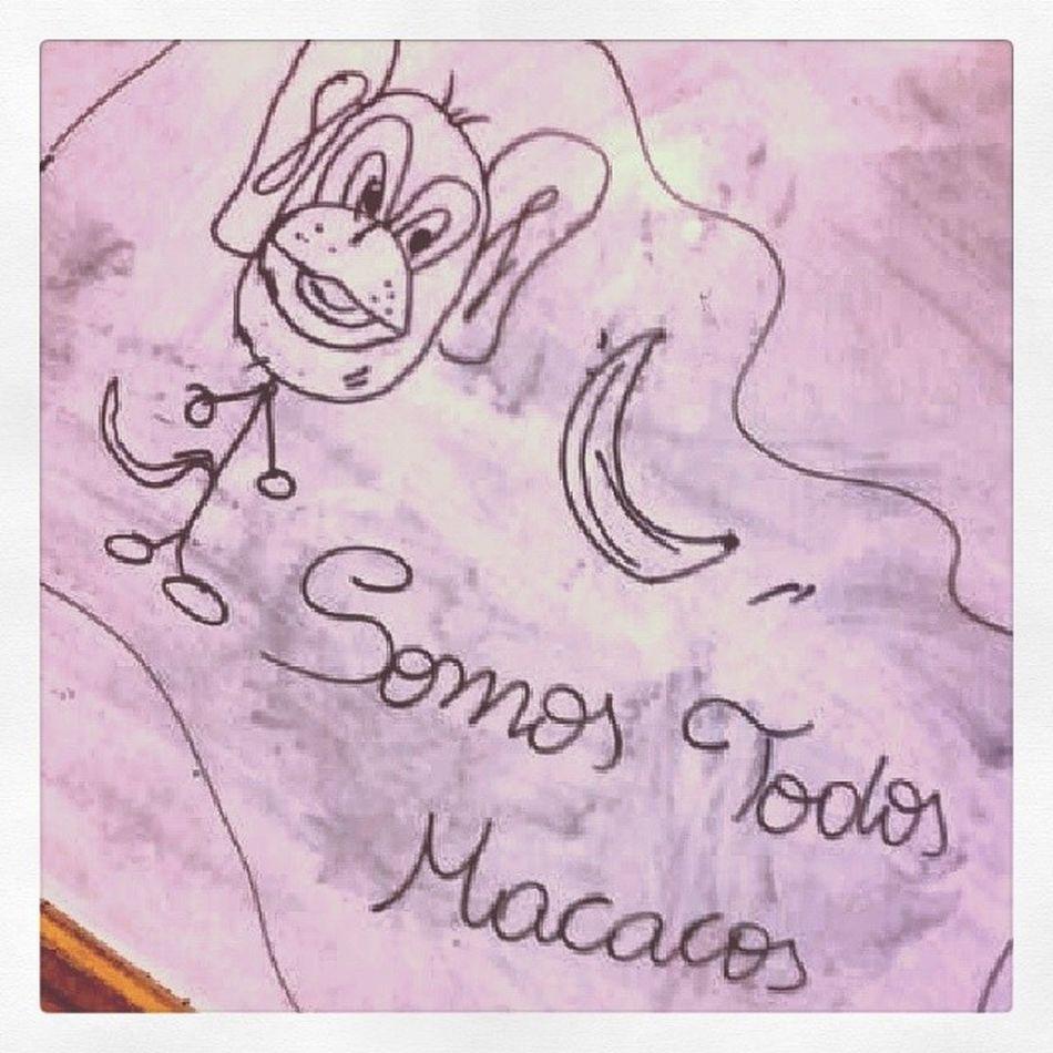SalaDeAula Sempreconceito Somosiguais Somostodosmacacos apoiado pelos colegasdeaula adesenhar noquadro folow folowme l4l like4like