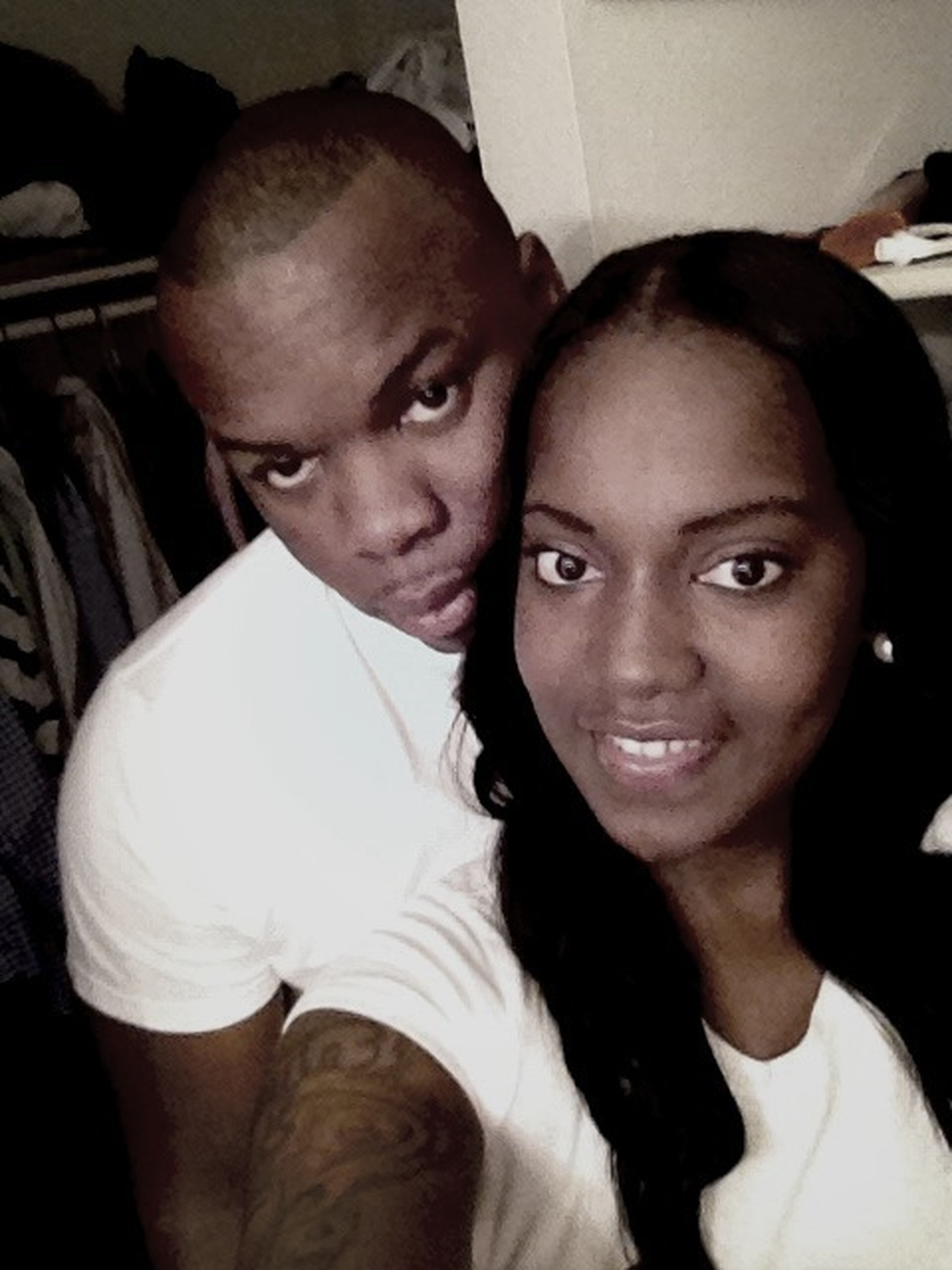 Taking Pics With The Hubby!!