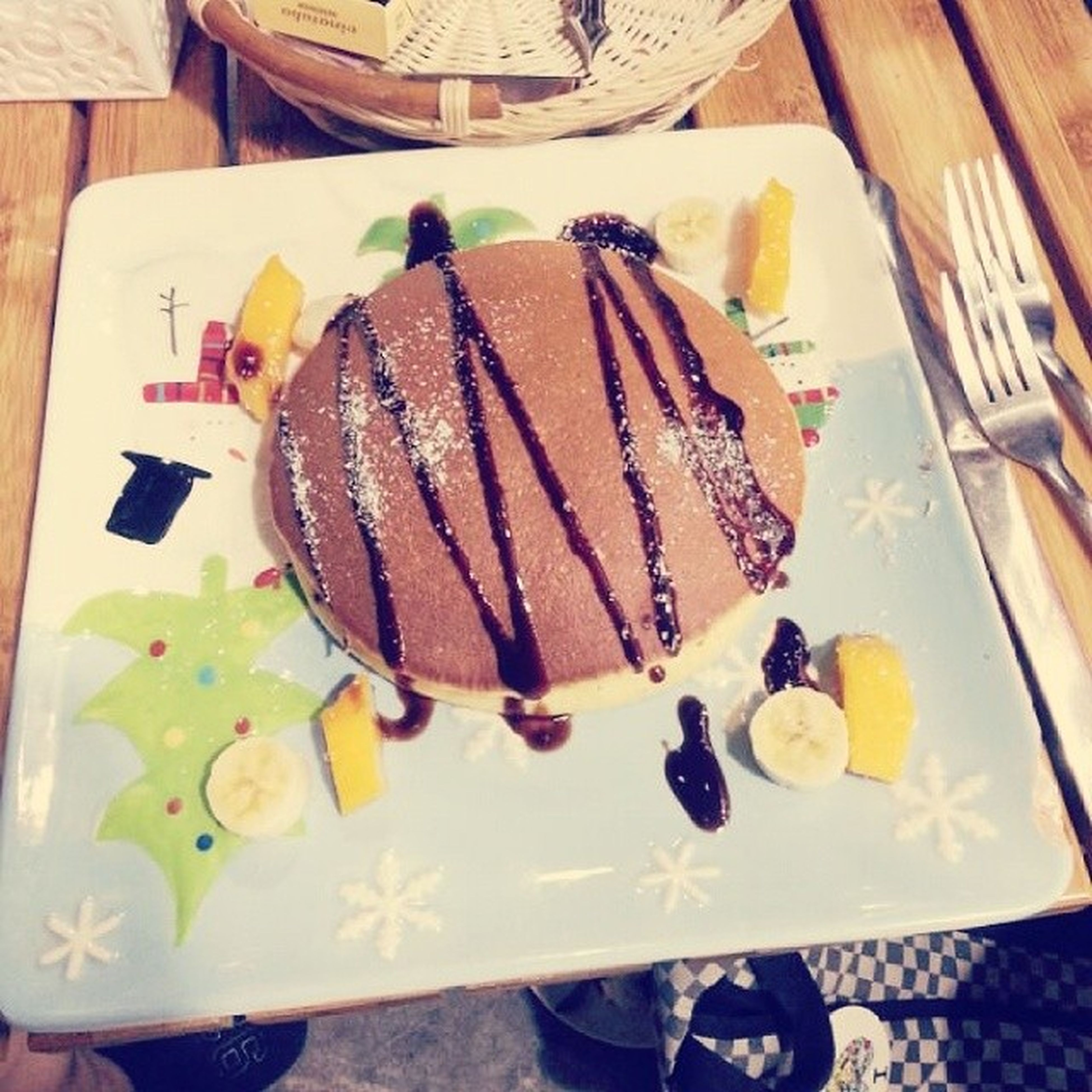 food and drink, indoors, food, sweet food, table, freshness, still life, dessert, ready-to-eat, indulgence, unhealthy eating, plate, high angle view, cake, temptation, fruit, close-up, chocolate, serving size, variation